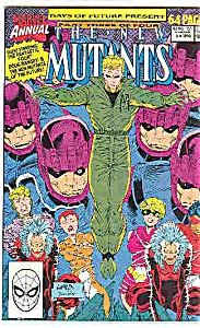 The New Mutants - Marvel annual - # 6  1990 (Image1)