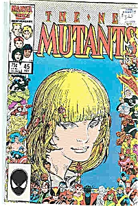 The New Mutants - Marvel comics -  # 45    1986 (Image1)
