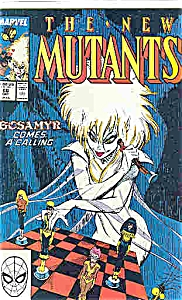 The New Mutants - Marvel comics - 3 68  Oct. 1988 (Image1)