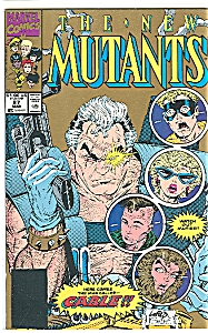 The New Mutants - Marvel comics  # 87 March  1990 (Image1)