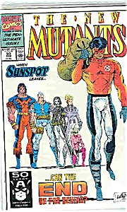 The New Mutants - Marvel comics - # 99 March 1991 (Image1)