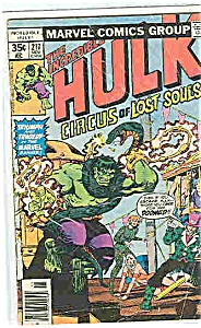 The HULK = Marvel comics - # 217  Nov.   1977 (Image1)