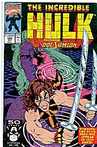 The Hulk- Marvel comics - # 380  April 1991 (Image1)