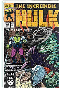 The Hulk  - Marvel comics - # 383 July 1991 (Image1)