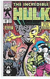 The Hulk - Marvel comics - # 387 - Nov. 1991 (Image1)
