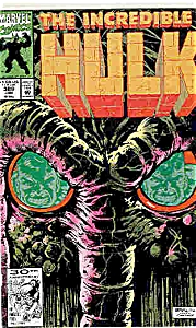 The Hulk - Marvel comics  # 389   Jan. 1992 (Image1)