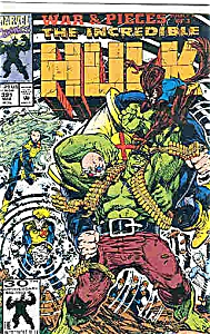 The Hulk - Marvel comics - #  391  March 1992 (Image1)