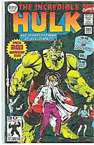 TheHulk - Marvel comics - # 393 May1992 (Image1)