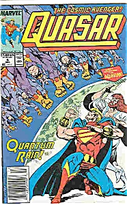 Quasar - Marvel comics - # 4  Dec. 1989 (Image1)