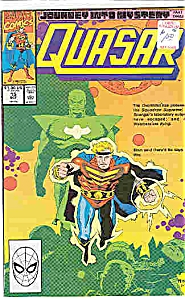 Quasar - Marvel comics - # 15   Oct. 1990 (Image1)