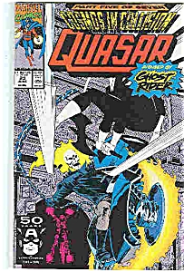 Quasar - Marvel comics - # 23 June 1991 (Image1)