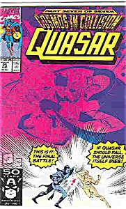 Quasar - Marvel comics - # 25 Aug. 1991 (Image1)