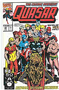 Quasar - Marvel comics - # 28 Nov.  1991 (Image1)