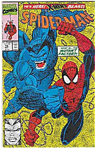 Spiderman - Marvel comics - # 15  Oct. 1991 (Image1)