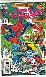 Spiderman - Marvel comics - # 106   Nov. 1993 (Image1)