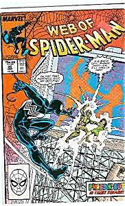 Spiderman - Marvel comics - #36  March 1988 (Image1)