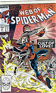 Spiderman - Marvel comics -  # 41  Aug. 1988 (Image1)