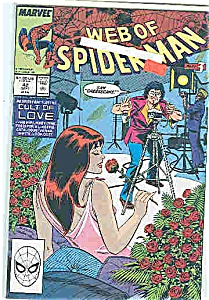 Spiderman - marvel comics - # 42 Sept 1988 (Image1)