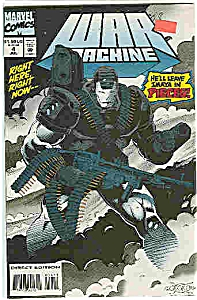 War Machine - Marvel comics  # 4 June 1994 (Image1)