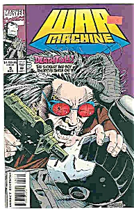 War Machine - Marvel comics - # 5  August 1994 (Image1)