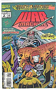 War Machine - Mar vel Comics - # 9 Dec. 1994 (Image1)