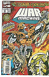 War Machine - Marvel comics - # 10 Jan. 1995 (Image1)