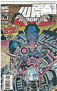 War MACHine - marvel comics - # 12 March 1995 (Image1)