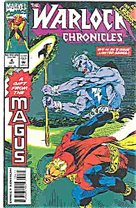 Warlock Chronicles - Marvel comics - # 4 Oct.  1993 (Image1)