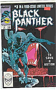 Black Panther - marvel comics - # 3 Sept. 1988 (Image1)