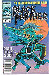 Black Panther - Marvel comics - # 4 Oct.  1988 (Image1)