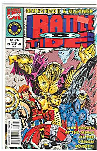 Battle Tide II - Marvel comics - 3 of 4  Oct. 1993 (Image1)