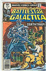 Battlestar Galactica - Marvel comics - # 3 May 1979 (Image1)