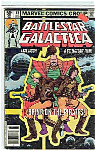 Battlestar Galactica - Marvel comics -#23 Jan.1981 (Image1)