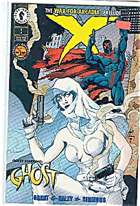 X  - Dark Horse comics  -# 8 - Oct. 1994 (Image1)