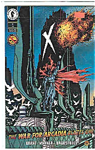 X - Dark Horse Comics - # 10 Dec. 1994