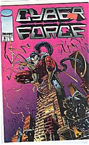Cyber F;orce - Image comics - # 8  Oct. 1994 (Image1)