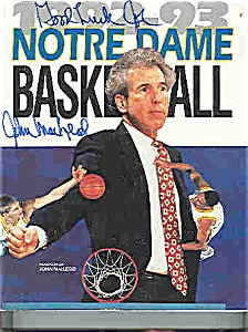 Notre Dame Basketball Guide 1992-1993 (Image1)