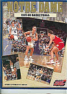 Notre Dame Basketball guide 1995-96 (Image1)
