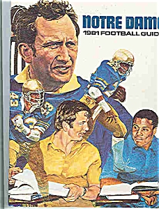 Notre Dame Football Guide 1981