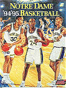 Notre Dame Basketball guide 1994-1995 (Image1)