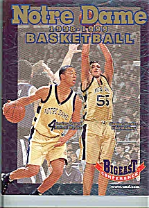 Notre Dame Basketball guide 1998-1999 (Image1)