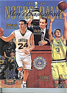 Notre Dame Basketball guide  2000=2001 (Image1)