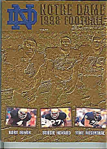 Notre Dame Football Guide 1998