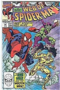 Spiderman - Marvel comics - # 66  July 1990 (Image1)