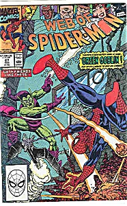 Spiderman - Marvel comics - # 67 August 1990 (Image1)