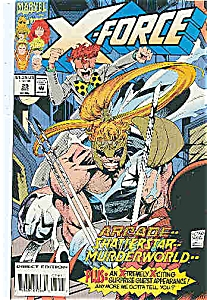 X-Force - Marvel comics =- # 29  Dec.  1993 (Image1)
