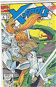 X-Force - Marvel comics - # 6 Jan. 1992 (Image1)