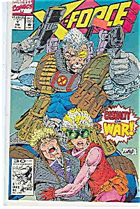 X-Force - Marvel comics  -# 7  Feb. 1992 (Image1)