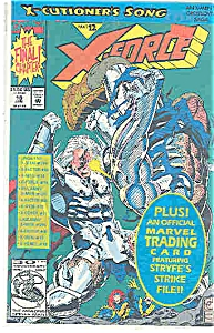 X-Force - Marvelcomics - # 18 Jan. 1993 (Image1)
