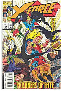 X-Force - Marvel comics - # 24  July 1993 (Image1)